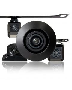 Universal Rearview Backup Camera with License Place Bracket and Adjustable Housing