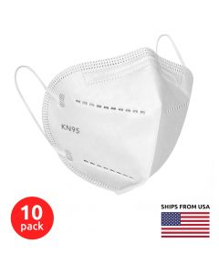 10 Pack of 5-layer KN95 Masks