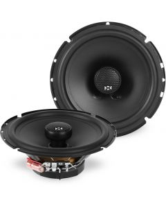 NSP65 | 6.5-inch 80 Watts RMS Coaxial Car Speakers w/ Silk Dome Tweeters