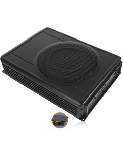 NVX QBUS8v2 Under Seat Powered Subwoofer Enclosure with Integrated Amplifier
