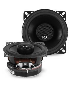 VSP4 | 4-inch 60 Watts RMS 2-Way V-Series Coaxial Car Speakers with Silk Dome Tweeters