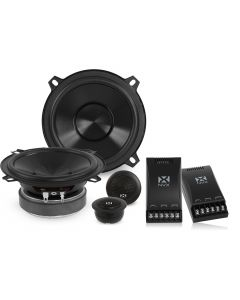 VSP525KIT | 5-1/4-inch 130 Watts RMS 2-Way V-Series 260W Component Car Speaker System with 25mm Silk Dome Tweeters