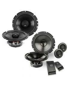 "NVX 6.5"" Coaxial + 6.5"" Component Front and Rear Speaker Upgrade"