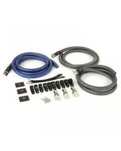XBG3PK | 1/0 AWG Big 3 Upgrade Kit with 100% OFC Wire for Audio Systems up to 350 Amps