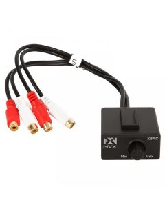 XBRC | Universal with Female RCA Audio Interconnect For Car Amplifier/Amp Bass/Input