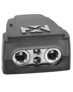 XBTPN08 | Positive or Negative Battery Terminal Clamp with 4 Outputs (2 1/0 or 4 Gauge and 2 8 Gauge)