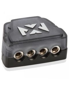 XDBU4 | Universal Distribution Block With One 1/0 - 4 Gauge Input and Four 4 - 8 Gauge Outputs