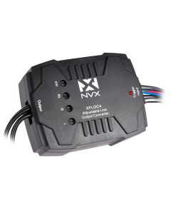 XFLOC4 | 160 Watt 4-Channel Line Output Converter with Digital Noise Filter and Line Driver