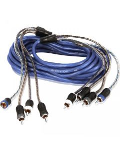 3m (9.84 ft) 4-Channel RCA Audio Interconnect Cable | XIV43