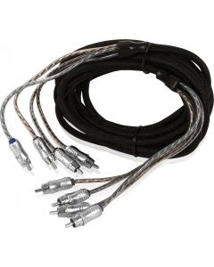 XIX46 | X-Series 6m (19.69 ft) 4-Channel RCA Audio Interconnect Cable