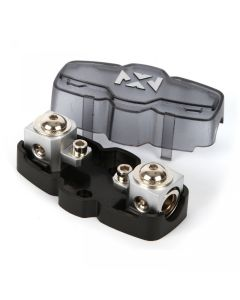 XMANL04 | ANL/Mini-ANL Fuse Holder with 1/0 or 4 Gauge Input and Output