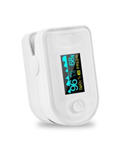 Fingertip Pulse Oximeter with Multi-color OLED Display | XOXM8