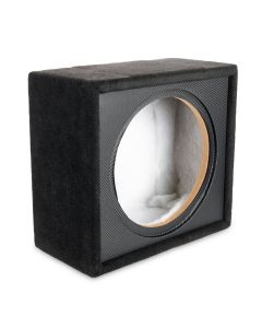 "XQWE112S | 12"" Sealed Subwoofer Box Made for NVX X-Series (XQW124/XQW122)"