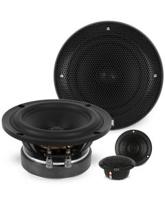 "5.25"" 2-Way X-Series Active Component Car Speaker System 