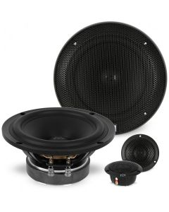 "NVX XSP6ACT 6.5"" 2-Way X-Series Active Component Car Audio Speaker System with Midbass Drivers and 29mm Tweeters"