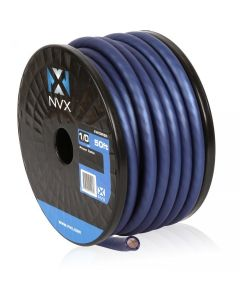 50 ft. of Blue 1/0-Gauge Power/Ground Wire Cable | XW0BL50