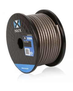 100 ft. of Gray 4-Gauge Power/Ground Wire Cable | XW4GR100