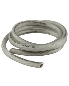 5 ft. of Frosted White True Spec 4-Gauge Power/Ground Wire | XW4WH5